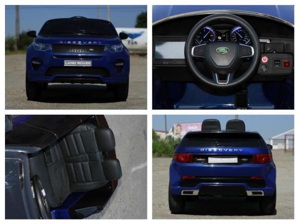 Masinuta electrica Land Rover Discovery DELUXE cu Touchscreen Mp4 #Albastru 7