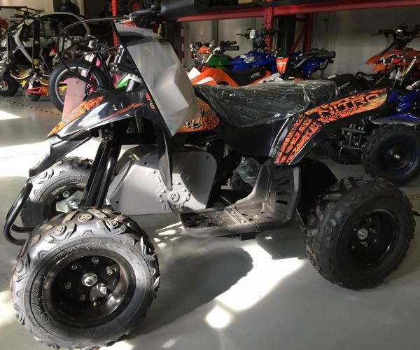 Mini ATV electric Pentru copii NITRO Eco Trio Quad 350W 24V #Portocaliu 1