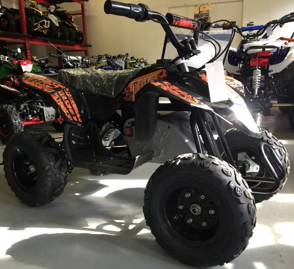Mini ATV electric Pentru copii NITRO Eco Trio Quad 350W 24V #Portocaliu 7