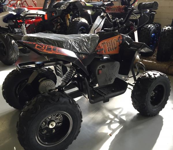 Mini ATV electric Pentru copii NITRO Eco Trio Quad 350W 24V #Portocaliu 2