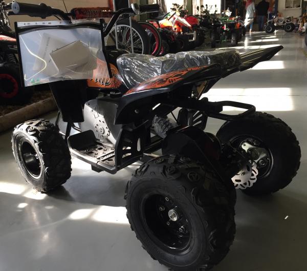 Mini ATV electric Pentru copii NITRO Eco Trio Quad 350W 24V #Portocaliu 3