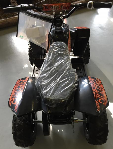 Mini ATV electric Pentru copii NITRO Eco Trio Quad 350W 24V #Portocaliu 5