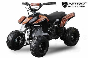 Mini ATV electric Pentru copii NITRO Eco Trio Quad 350W 24V #Portocaliu 0