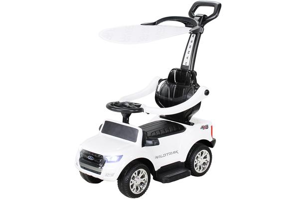 Carut pentru plimbat copii 2 in 1 Ford Ranger STANDARD #Alb 0