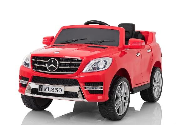 Masinuta electrica Mercedes ML350 2x25W STANDARD 12V #Rosu 0