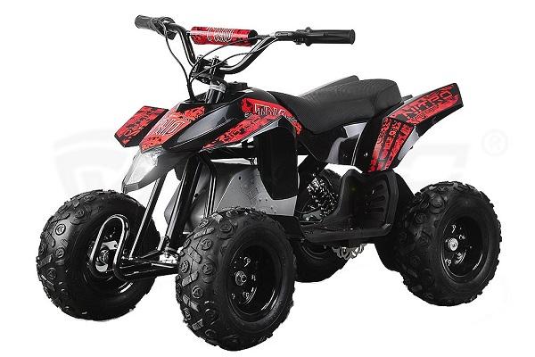 Mini ATV electric Pentru copii NITRO Eco Trio Quad 350W 24V #Rosu 0