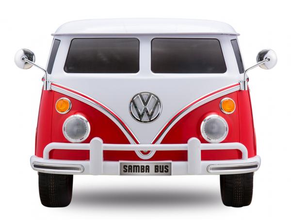 Masinuta electrica VW Samba Bus 2x45W, PREMIUM #Rosu 0