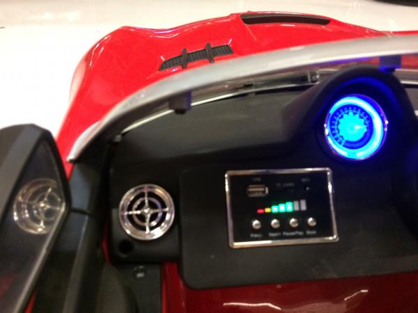 Masinuta electrica Mercedes SLS STANDARD 2x 25W 12V # Rosu 4