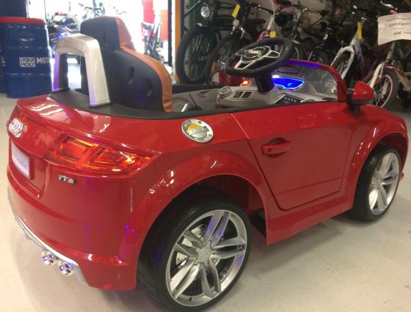 Kinderauto Audi TTS 2x 30W 12V PREMIUM #Rosu 7