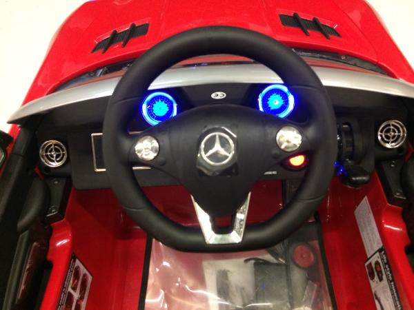 Masinuta electrica Mercedes SLS STANDARD 2x 25W 12V # Rosu 6