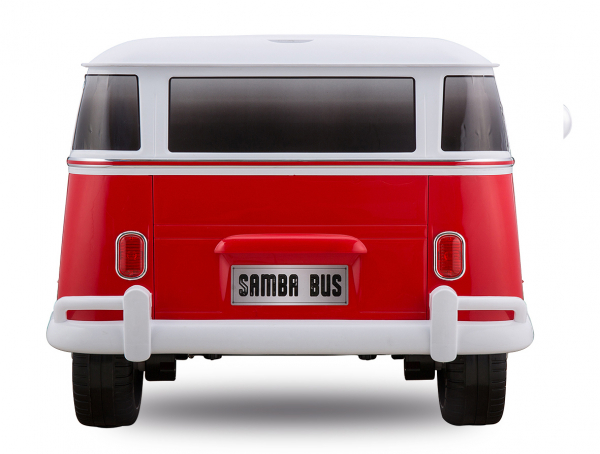 Masinuta electrica VW Samba Bus 2x45W, PREMIUM #Rosu 2