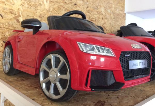 Masinuta electrica Audi TT RS 2x 30W STANDARD 12V #Rosu 5
