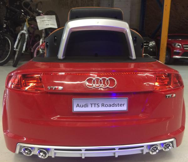 Kinderauto Audi TTS 2x 30W 12V PREMIUM #Rosu 6