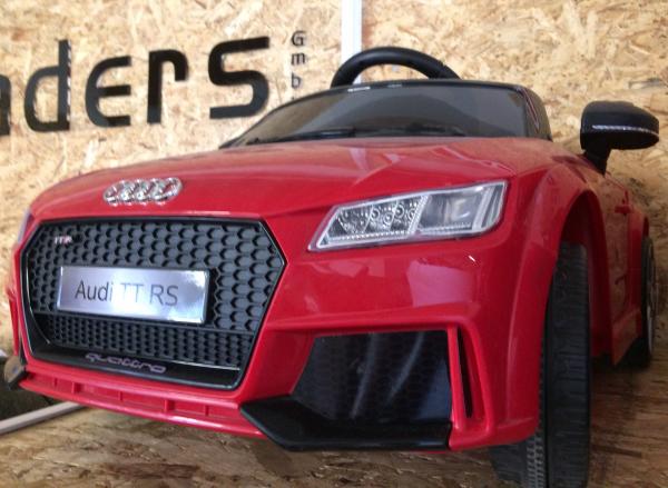 Masinuta electrica Audi TT RS 2x 30W STANDARD 12V #Rosu 7