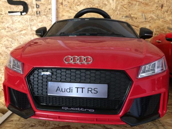 Masinuta electrica Audi TT RS 2x 30W STANDARD 12V #Rosu 6