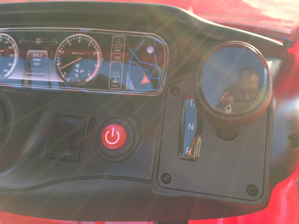 Masinuta electrica Mercedes S63 12V PREMIUM #ROSU 7