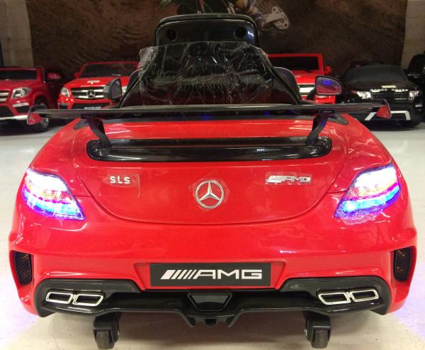 Masinuta electrica Mercedes SLS STANDARD 2x 25W 12V # Rosu 3