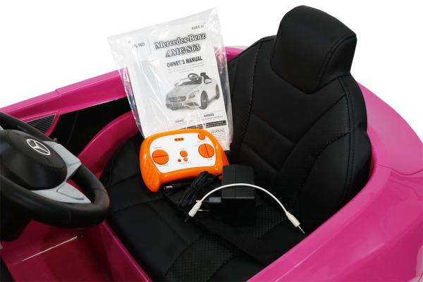Kinderauto Mercedes S63 12V PREMIUM #Roz 7