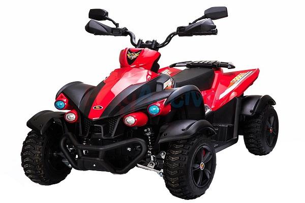 ATV EVA - Quad electric pentru copii 2x 45W 12V #Rosu 0