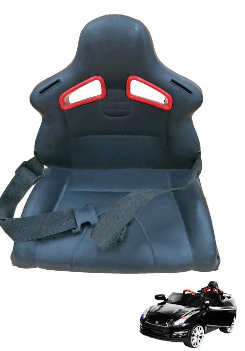 Scaun din plastic pentru masinuta Nissan GT-R [0]
