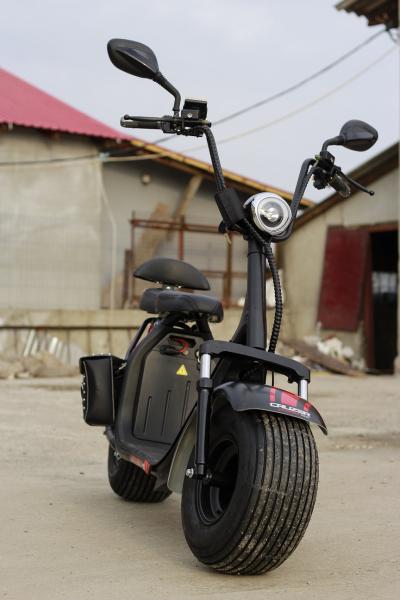 Scuter electric NITRO Eco Cruzer 1000W 60V + Accesorii #Negru 1