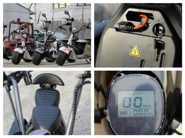 Scuter electric NITRO Eco Cruzer 1000W 60V + Accesorii #Negru 5