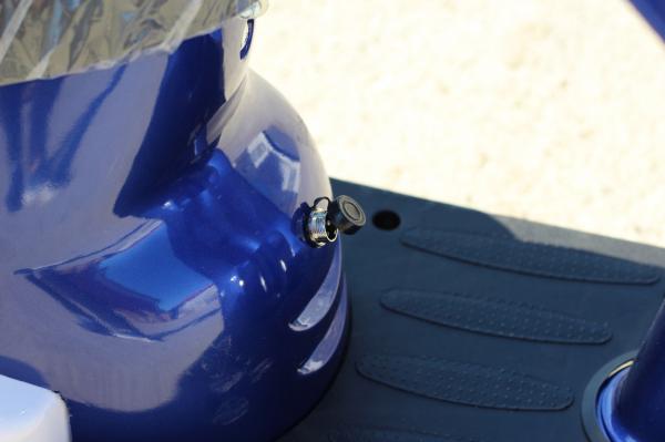 Scuter electric pentru copii NITRO ECO Retro 350W 24V 6.5 inch #Albastru 10