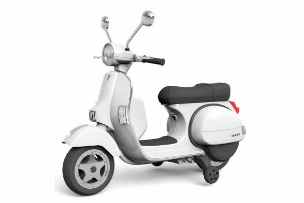 Scuter electric pentru copii Piaggio PX150 PREMIUM #Alb 0
