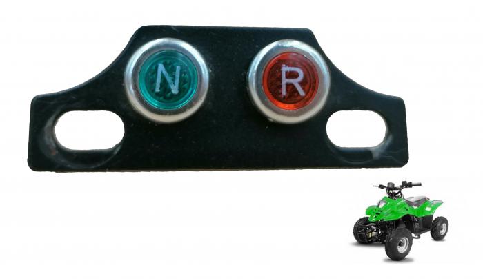 Suport metal cu indicator treapta viteza neutru/marsarier 0