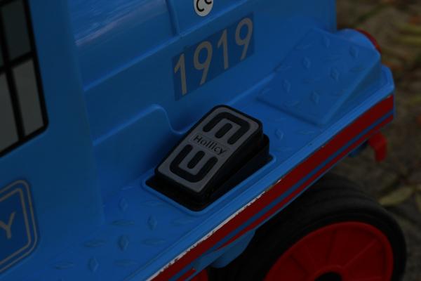 Trenulet electric pentru copii SX1919 90W 12V STANDARD #Albastru 6
