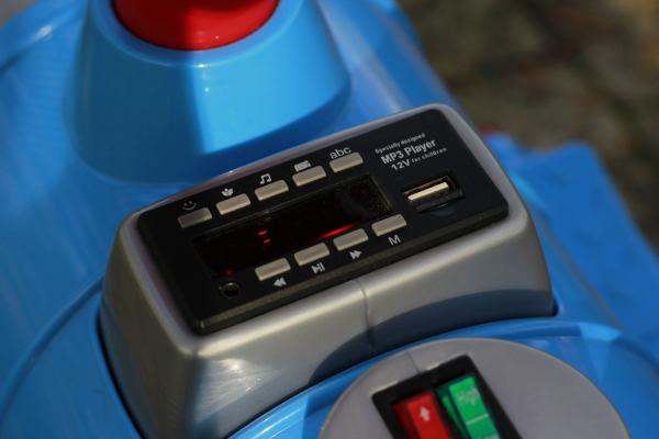 Trenulet electric pentru copii SX1919 90W 12V STANDARD #Albastru 8