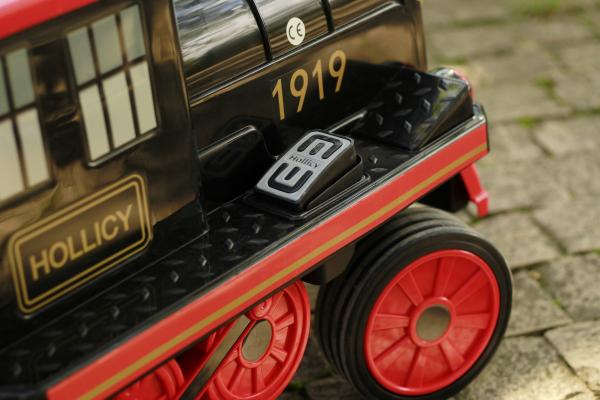 Trenulet electric pentru copii SX1919 90W 12V STANDARD #Rosu 4