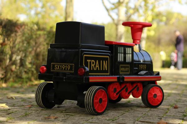 Trenulet electric pentru copii SX1919 90W 12V STANDARD #Rosu 12