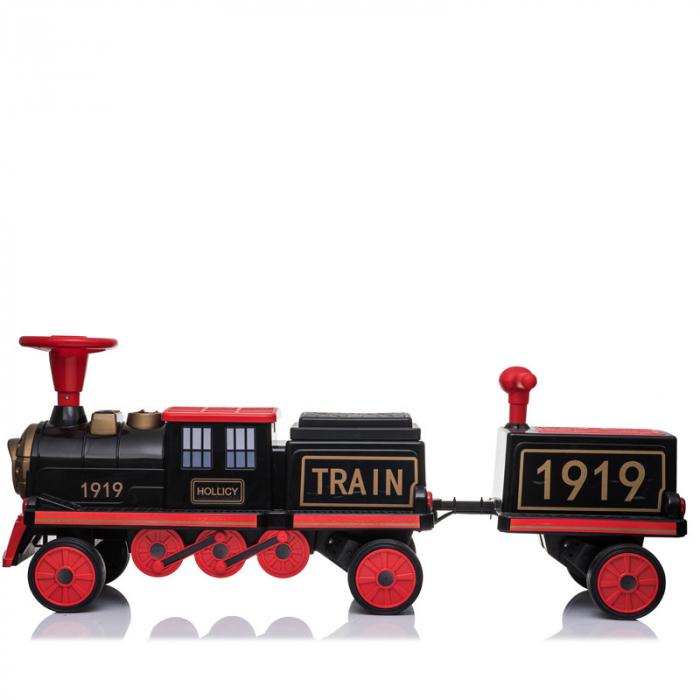 Trenulet electric cu vagon SX1919 12V 180W STANDARD #Rosu 12