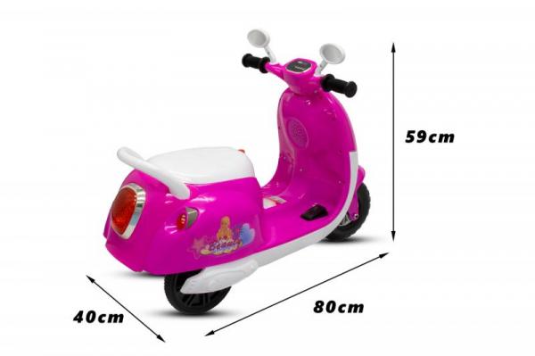 Tricicleta electrica pentru copii Princess 20W 6V #Roz 1