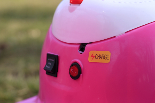 Tricicleta electrica pentru copii Princess 20W 6V #Roz 8