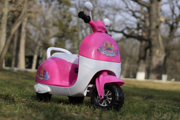 Tricicleta electrica pentru copii Princess 20W 6V #Roz 2