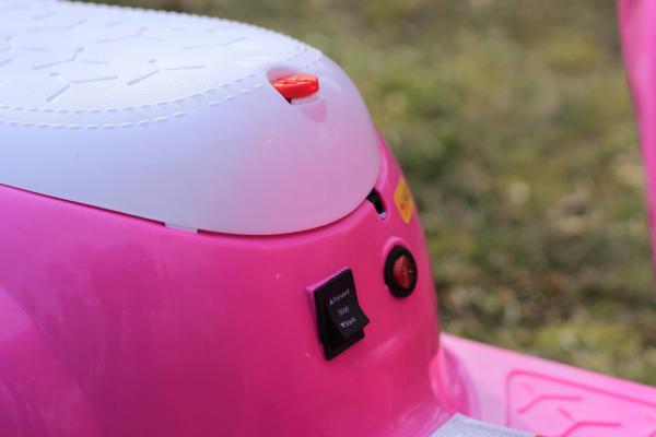 Tricicleta electrica pentru copii Princess 20W 6V #Roz 7