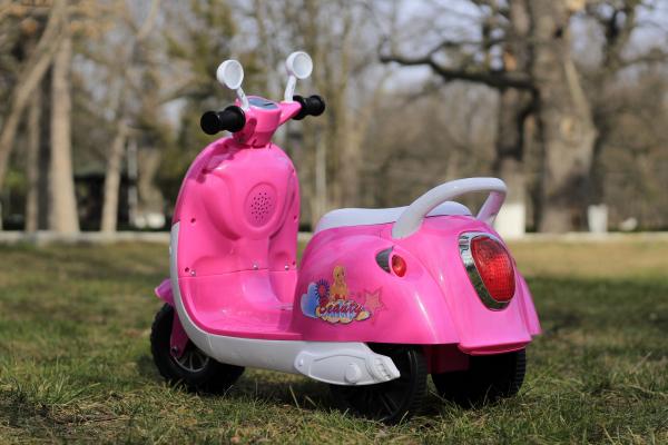 Tricicleta electrica pentru copii Princess 20W 6V #Roz 4