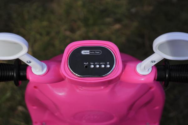 Tricicleta electrica pentru copii Princess 20W 6V #Roz 5