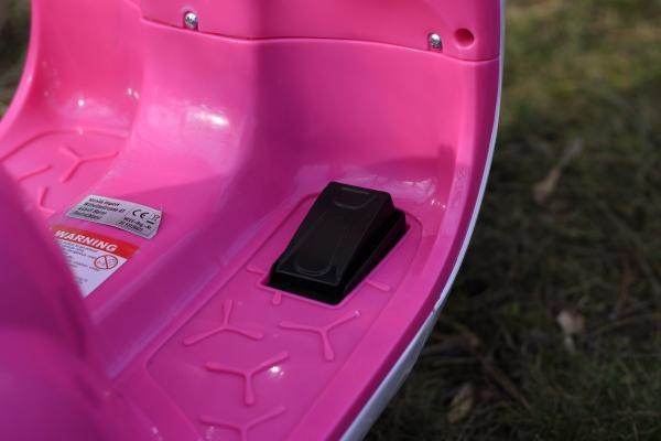 Tricicleta electrica pentru copii Princess 20W 6V #Roz 6