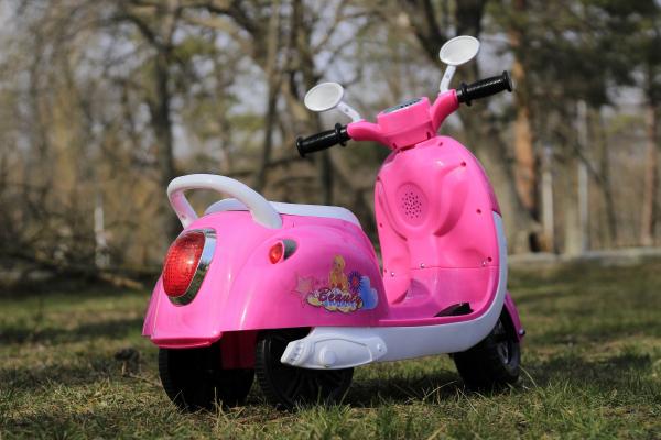 Tricicleta electrica pentru copii Princess 20W 6V #Roz 9