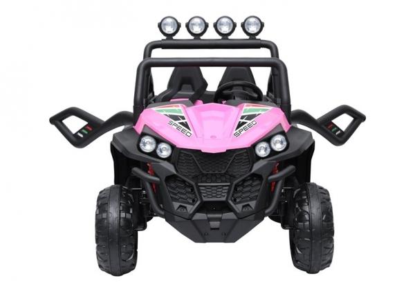 UTV electric pentru copii Golf-Kart S2588 180W PREMIUM #Roz 6