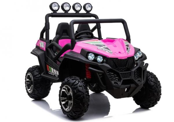 UTV electric pentru copii Golf-Kart S2588 180W PREMIUM #Roz 0