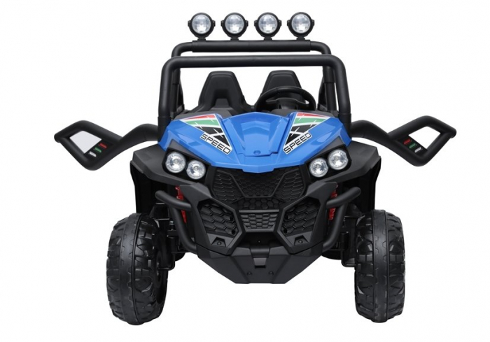 UTV electric pentru copii Golf-Kart S2588 180W PREMIUM #Albastru [6]