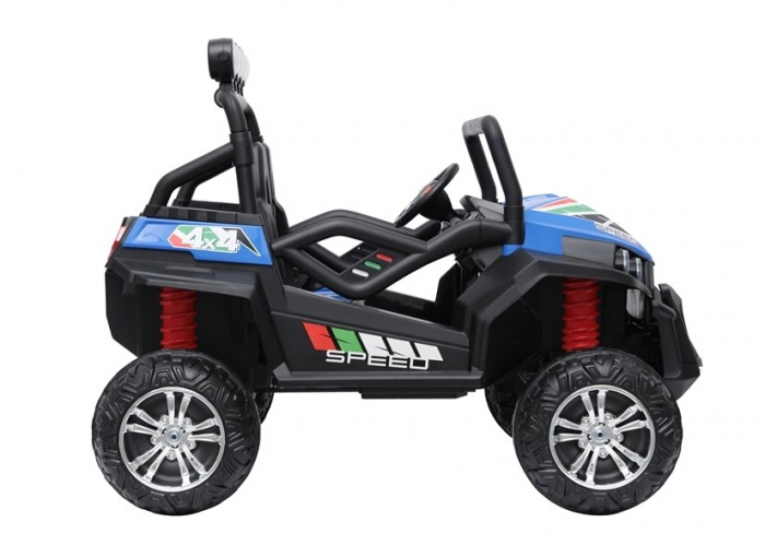 UTV electric pentru copii Golf-Kart S2588 180W PREMIUM #Albastru 7