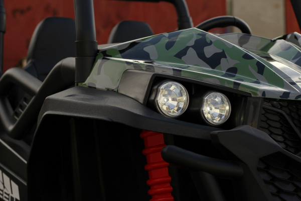 UTV electric pentru copii Golf-Kart S2588 180W PREMIUM #Verde 14