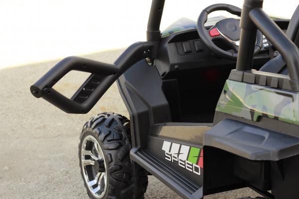 UTV electric pentru copii Golf-Kart S2588 180W PREMIUM #Verde 10