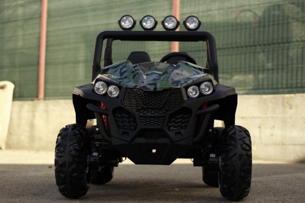 UTV electric pentru copii Golf-Kart S2588 180W PREMIUM #Verde 1