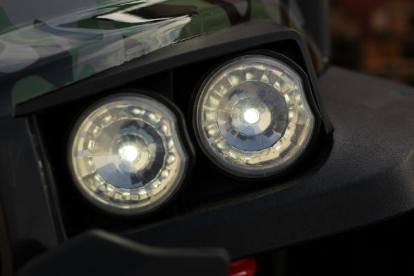 UTV electric pentru copii Golf-Kart S2588 180W PREMIUM #Verde 13